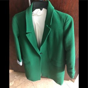 Green jacket ZARA